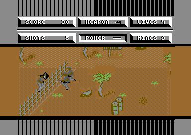 Cobra Command Level 1