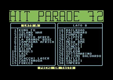 hit Parade 72