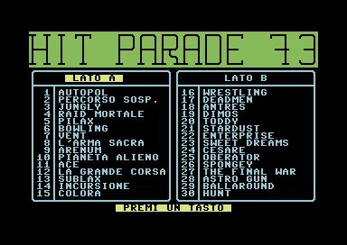 hit Parade 73