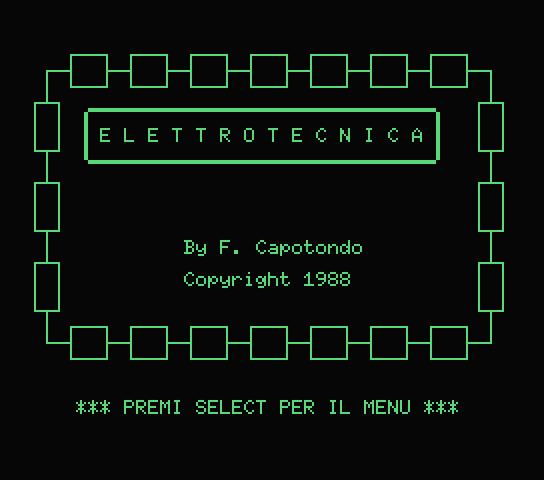Elettrotecnica