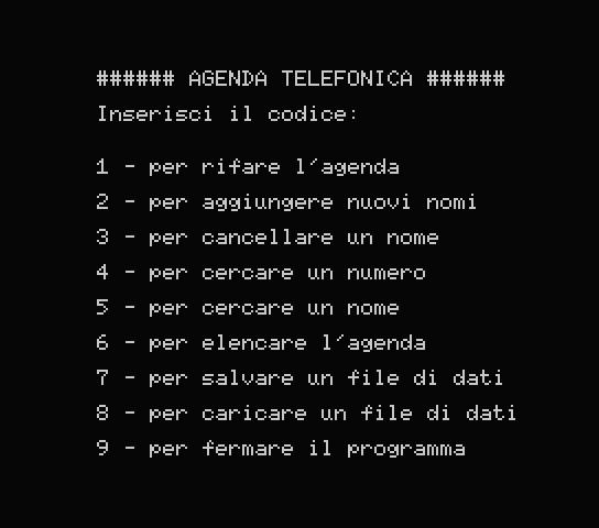 Agenda Telefonica