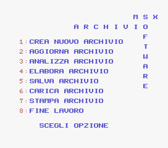 Archivio Software