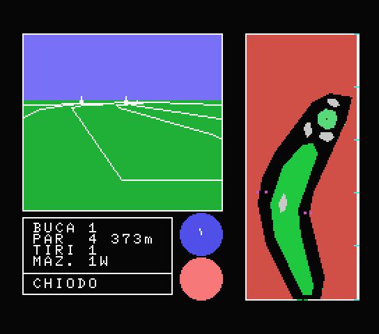 Golf 3-D