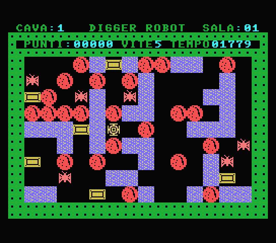 Digger Robot