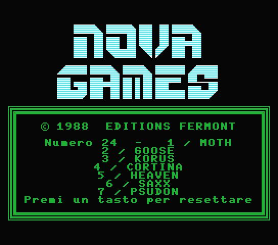 Nova Games 24