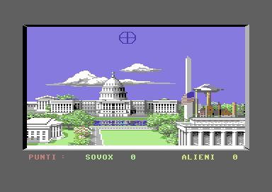 ufo sulla Casa Bianca