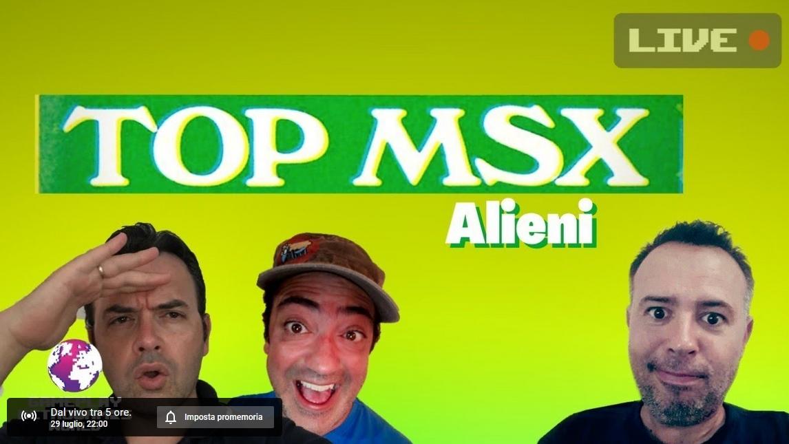 TOP MSX:02 Alieni
