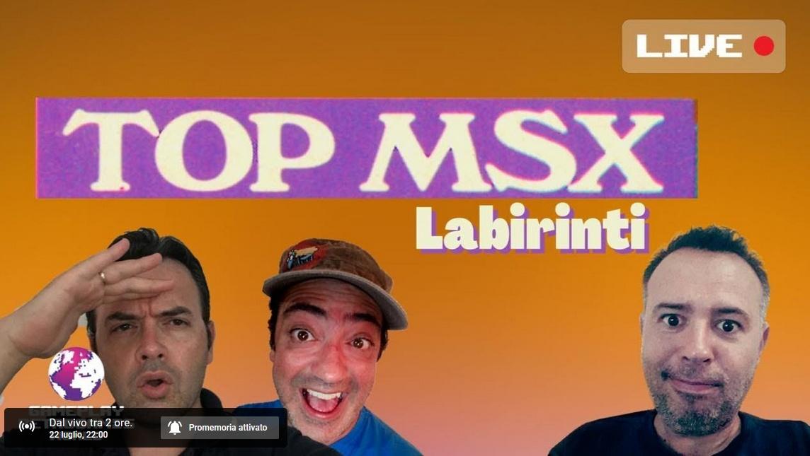 TOP MSX:01 Labirinti